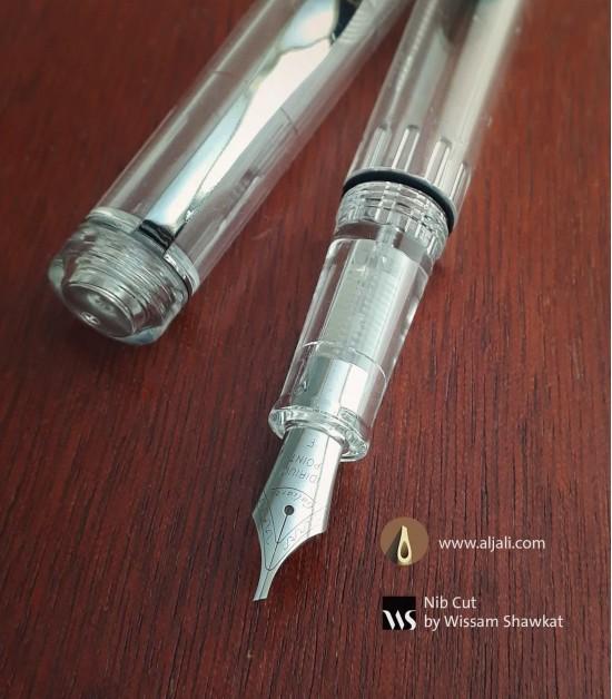 قلم خط شفاف نظام بيستون