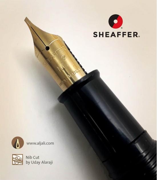 قلم شيفر امريكي بريشة ذهبية